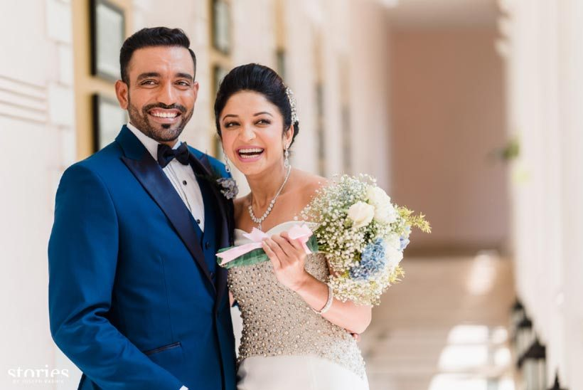 Robin Uthappa Wedding Pictures