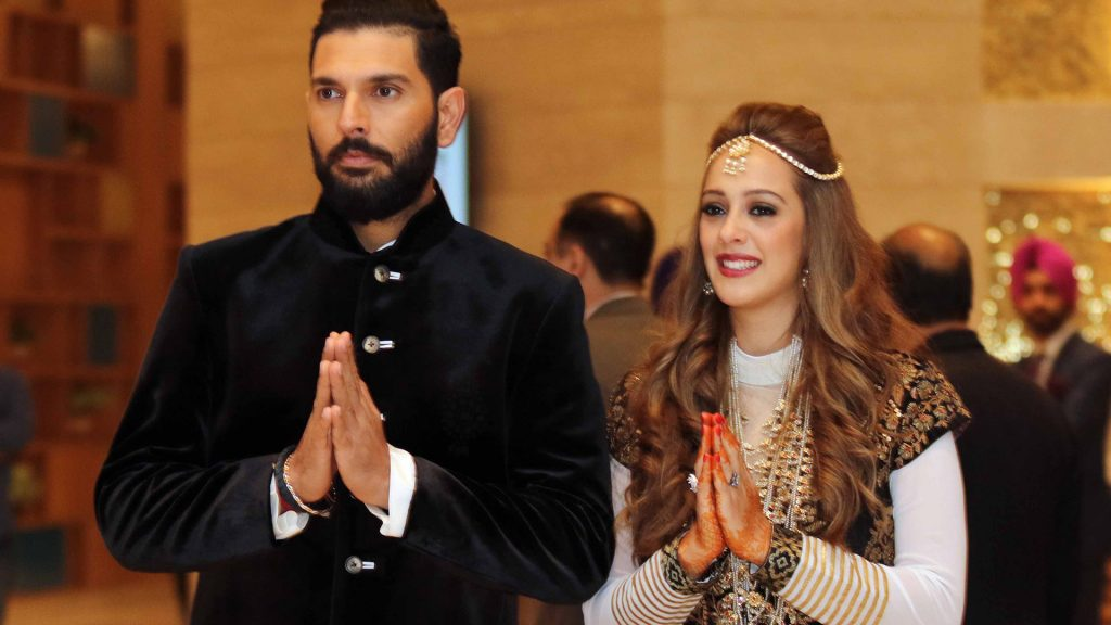 Yuvraj Singh Wedding Photos