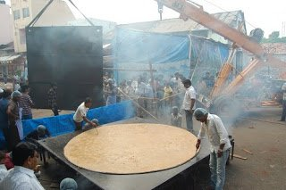 biggest chapati