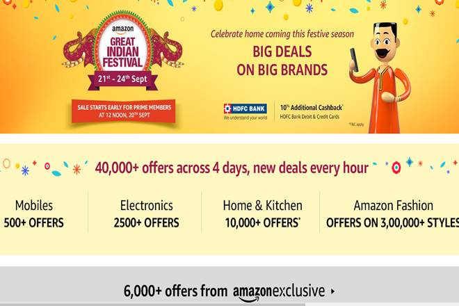 Amazon Great Indian Sale September 2017