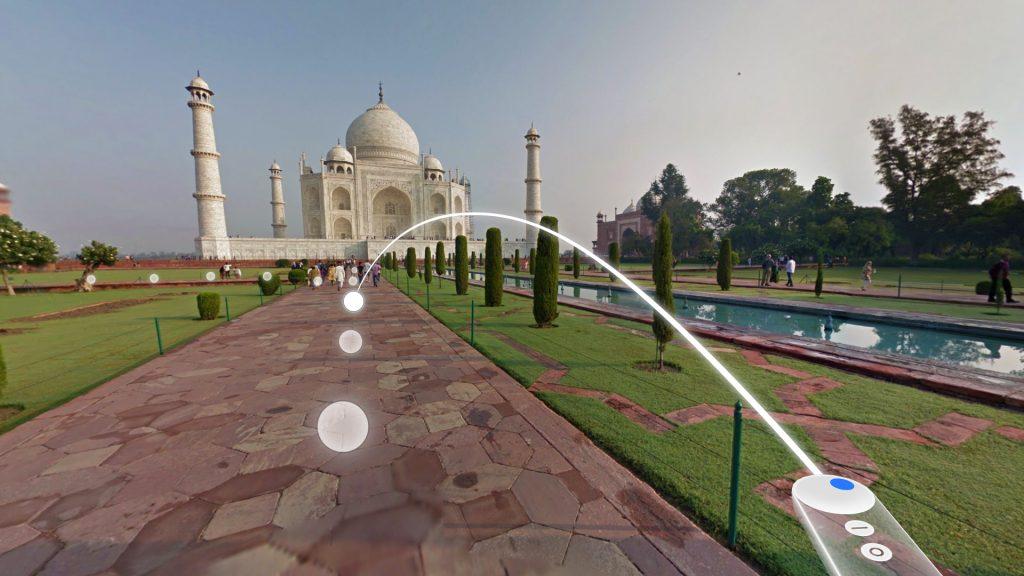 Google Daydream Taj Mahal