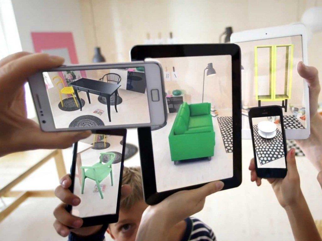 Google Tango Furniture