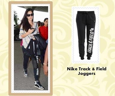 Katrina Kaif Nike Joggers-crop