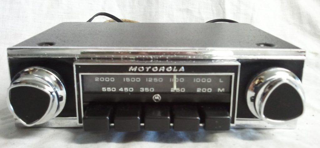 Motorola Car Radio