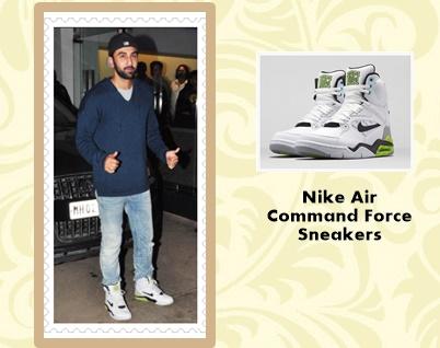 Ranbeer Kapoor Nike Sneakers-crop