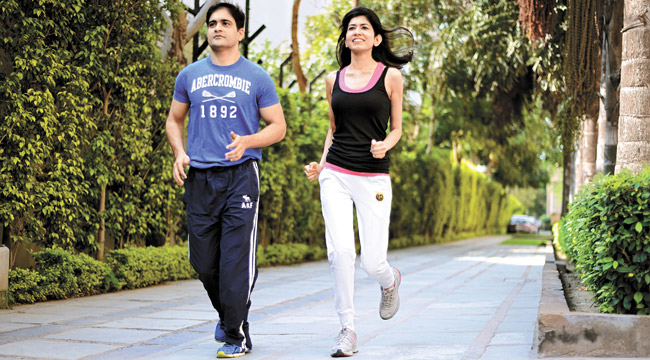 Rohan and Swati Workout