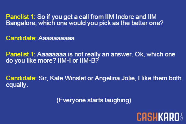 IIM Question - Kate or Angelina