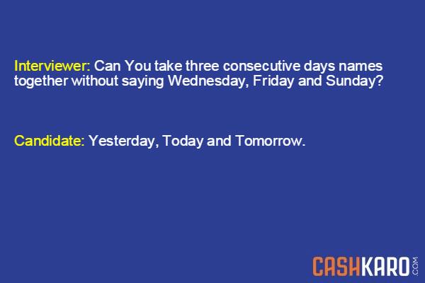 IIM Questions - 3 Consecutive Days