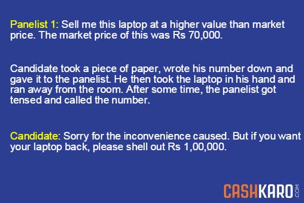 IIM Questions - Laptop Story