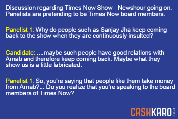 IIM Questions - Times Now Panel