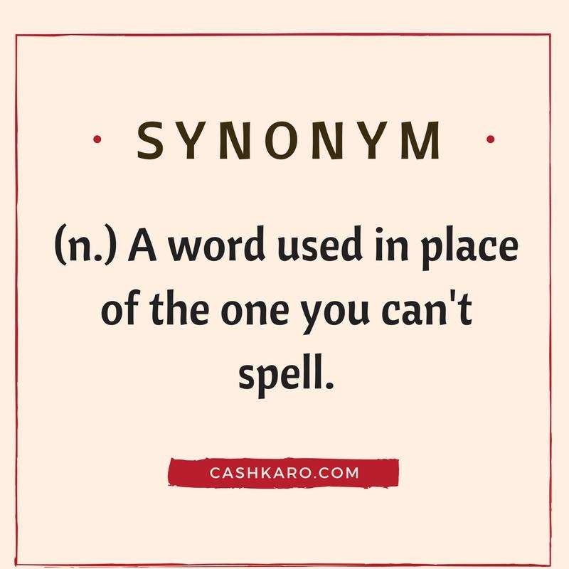synonym