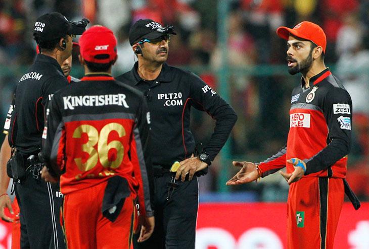 Virat Kohli Umpire