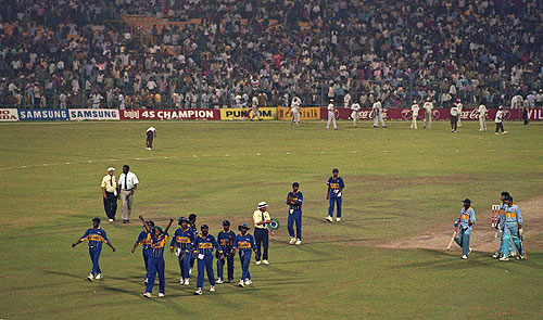 India-Lost-to-Sri-Lanka-1996-World-Cup-Cricket