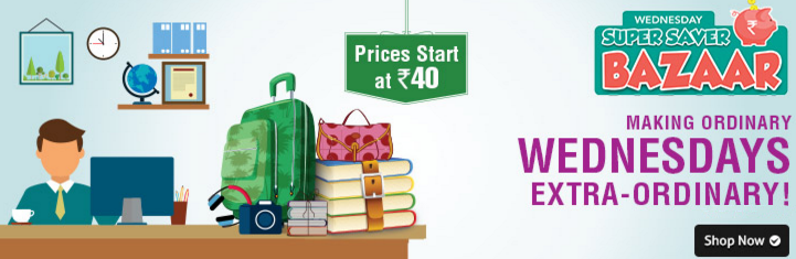 Shopclues Wednesday Super Saver Bazaar