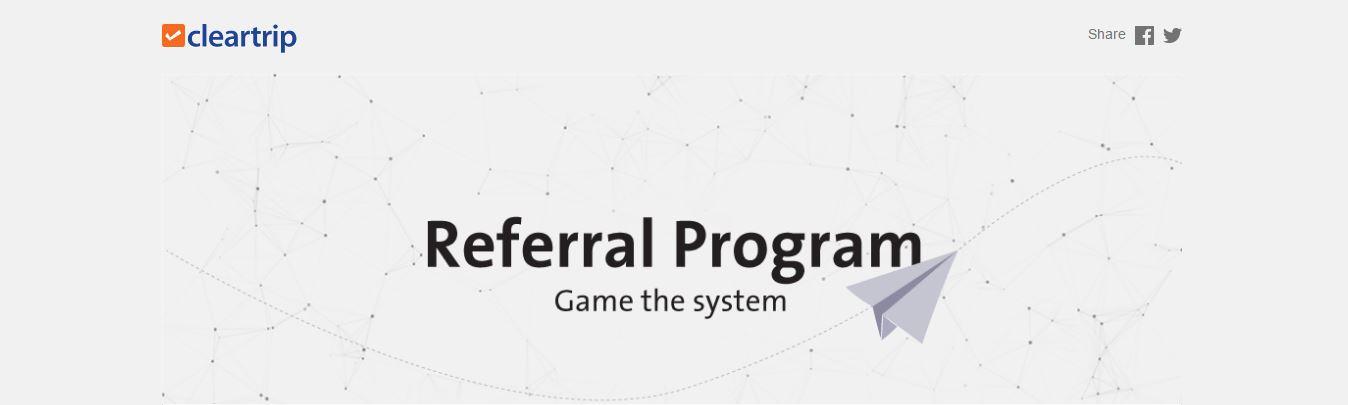 Cleartrip Referral Program