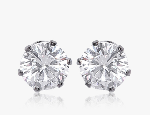 Dressberry Silver Metal Studs. Rs 320 at Jabong