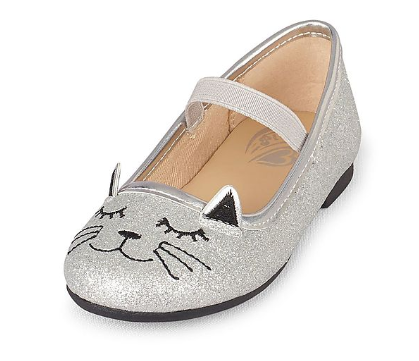 The Children's Place Toddler Girl Cat Graphic Kayla Ballet Flat, Rs. 1699 on NNNOW