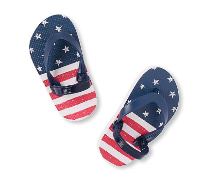 The Children's Place Toddler Boy Americana Flip Flop, Rs. 299 on NNNOW