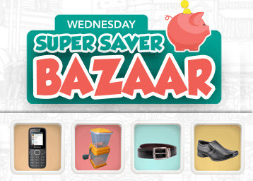Shopclues-Wednesday-Super-Saver-Bazaar-Deal-26-August