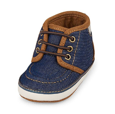The Children's Place Baby Boys Denim Mid Top Sneaker, Rs 1,399 on NNNOW