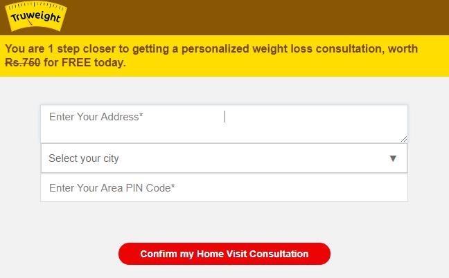Address for Home checkup