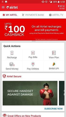 Airtel Postpaid Number Plans