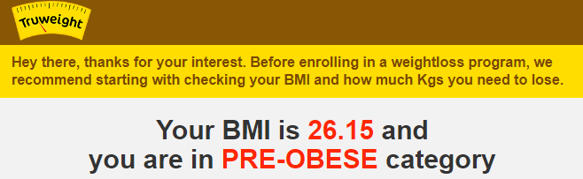 BMI check