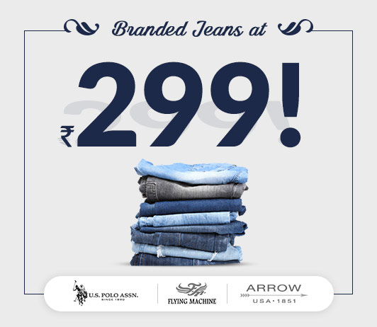 Branded Jeans at 299