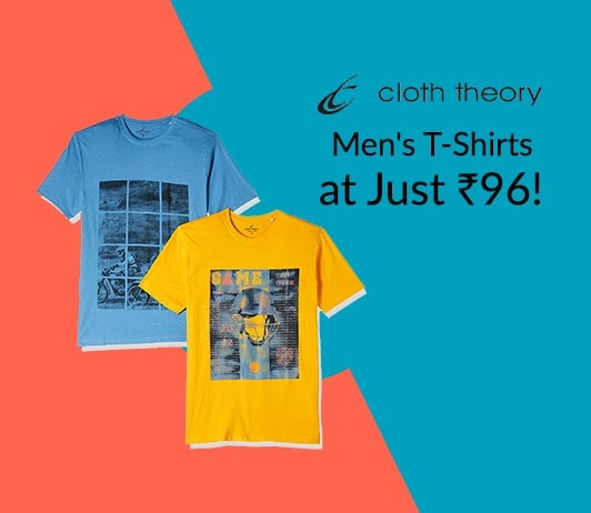 Cloth Theory Men T-Shirts Offer