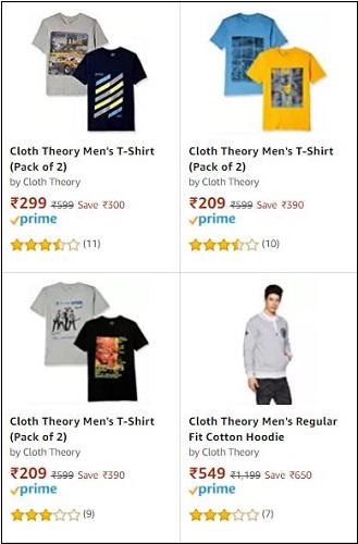 Cloth Theory Men T-Shirts