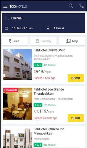 FabHotels Chennai