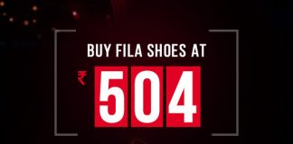 Fila Shoes Exclusive Deal