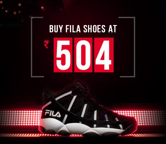 Fila Shoes Exclusive Deal