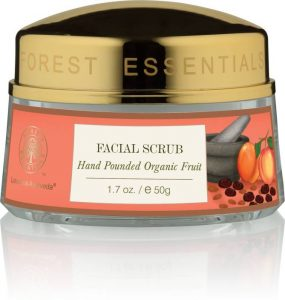 Forest Essentials Hand Pounded Organic Fruit Scrub