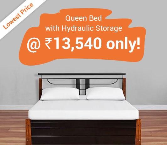 HomeTown Queen Bed Offer