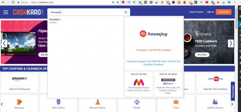 Housejoy_search