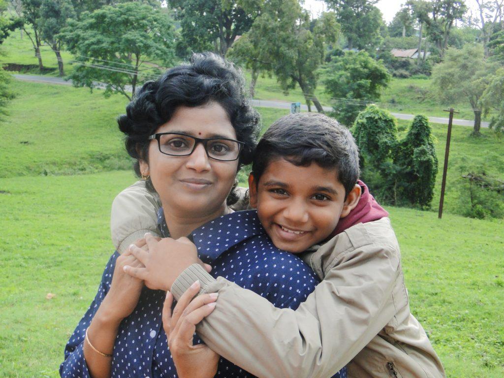 Menaka - Simple Indian Mom