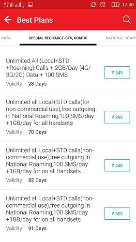 Airtel Prepaid Unlimited Plans