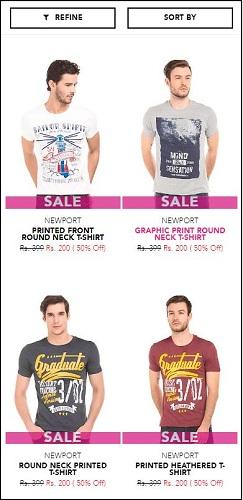 Newport T-Shirts Offer