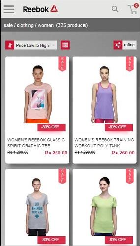 Reebok Women T-Shirts