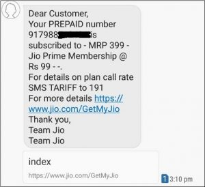 How to check my Jio Number