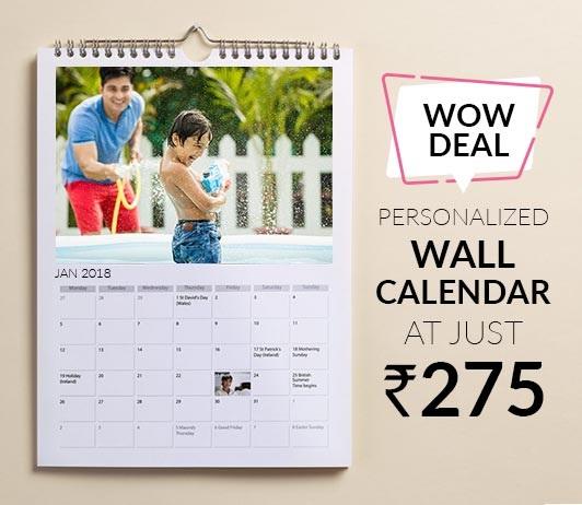 Zoomin Custom Calendar