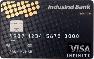 IndusInd Black Card