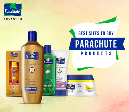 7 Best Online Shopping Sites To Buy Parachute Oils and Products