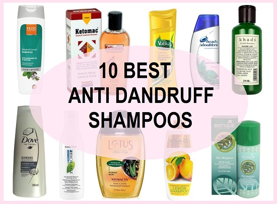 Best Herbal Anti Dandruff Shampoo