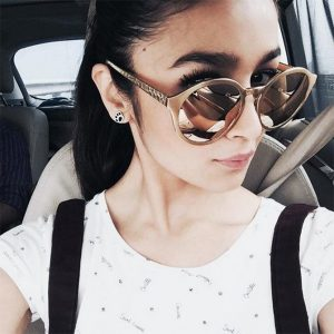 Alia Bhatt Oversized Sunglasses
