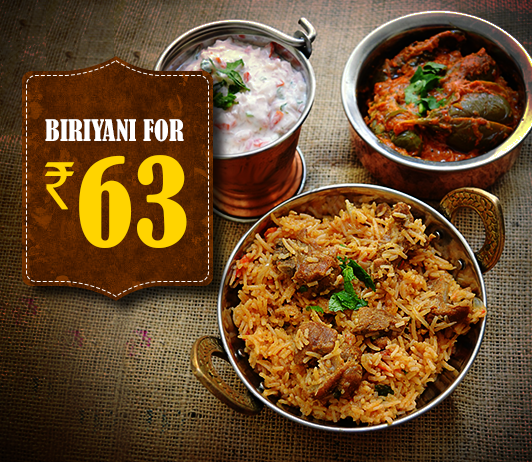 Biriyani Cheapest Price offer