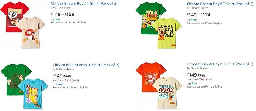 Chhota Bheem - T Shirt Collection