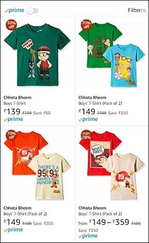Chhota Bheem T-Shirts
