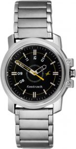 Best Fastrack Watches - Fastrack NG3039SM02 Basics Men's Watch